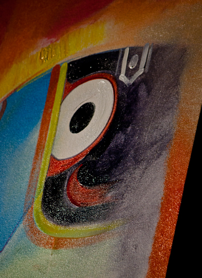 Painting of Lord Jagannath displaying his eye